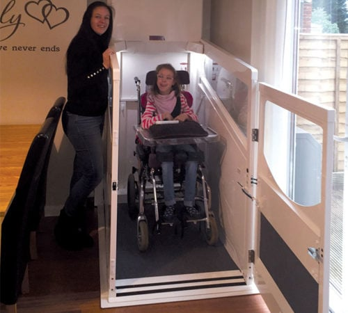 A new Harmony Lift helps Libby feel like a part of the family again
