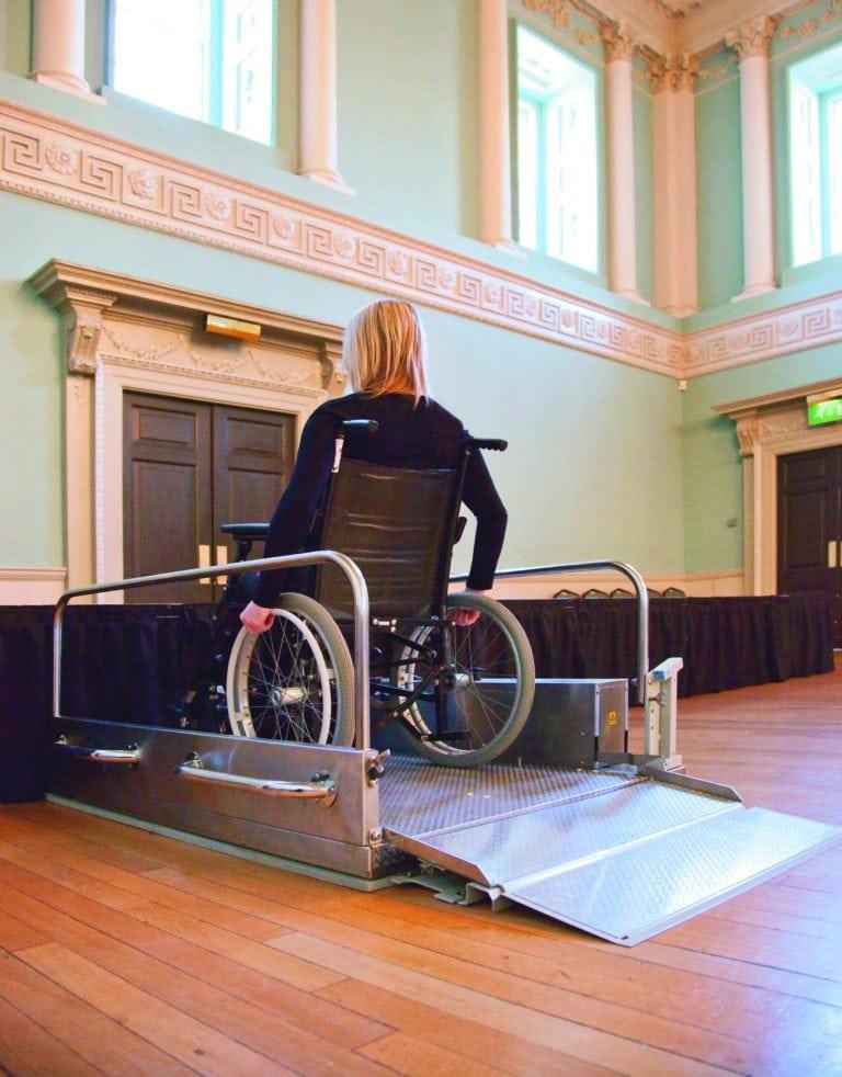 Portable Platform Lift for Wheelchair Access
