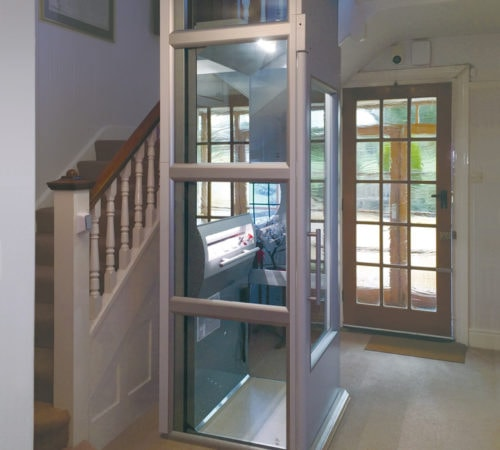 Mrs. Robertson's THL 400: A Special Home Lift for a Special Home