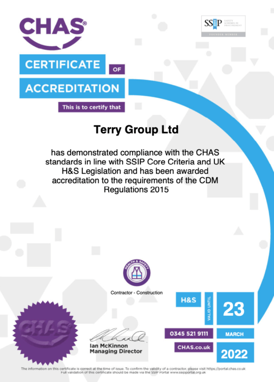 CHAS Certificate 2021-22