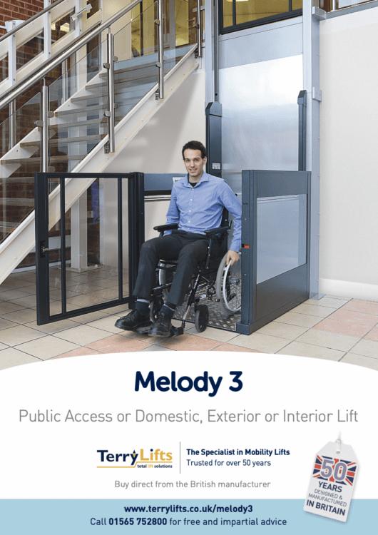 Melody 3 Vertical Platform Lift Brochure